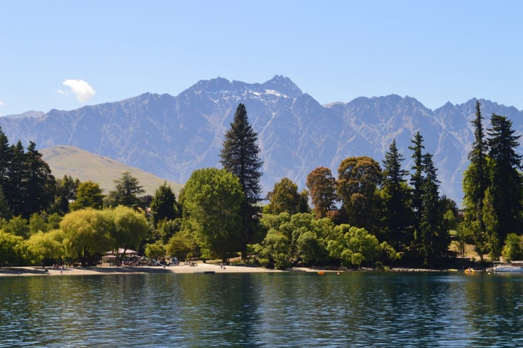 queenstown lac wakatipu